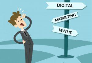 אל תוטרף על ידי 5 מיתוסי השיווק הדיגיטלי לעסקים קטנים